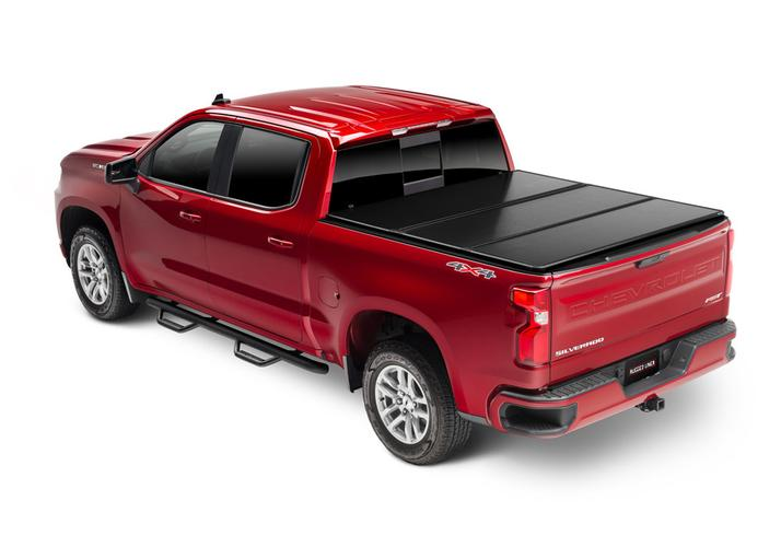 Rugged Cover Premium Hard Folding Truck Bed Cover Rugged