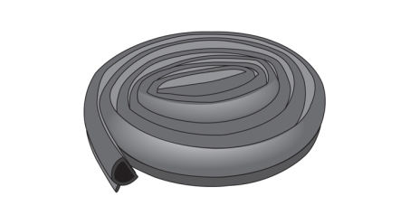 Roll of Perimeter Q-Seal for E-Series Soft Folding Covers