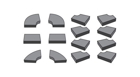 Foam Piece Kit (10mm) for E-Series Hard Folding Covers
