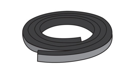Perimeter Rubber Roll Replacement (10mm) for Hard Folding Covers