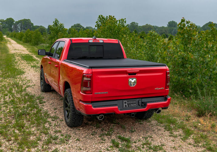 Rugged Cover E Series Soft Folding Truck Bed Cover Rugged Liner Rugged