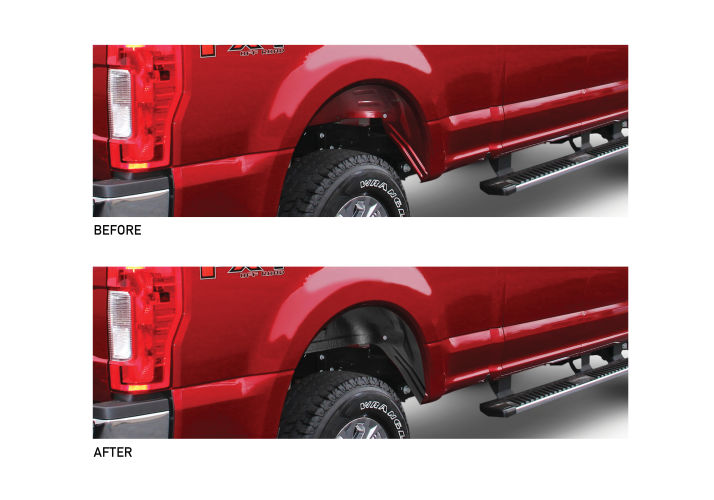 Rugged Liner Rear Wheel Well Liners | Rugged Liner | Rugged